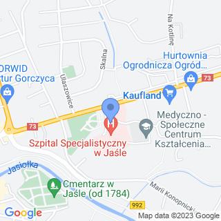 Towarzystwo Przyjaciół Szpitala Powiatowego w Jaśle na mapie