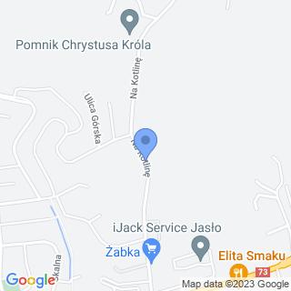 Jasielskie Stowarzyszenie Uniwersytetu Trzeciego Wieku w Jaśle na mapie