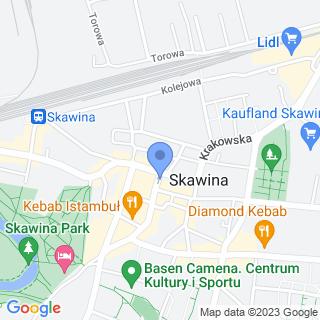 Apteka Niebieska 24h na mapie