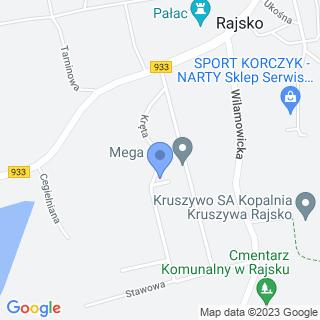 Kaja na mapie