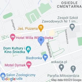 Przedszkole Miejskie nr 7 w Dębicy na mapie