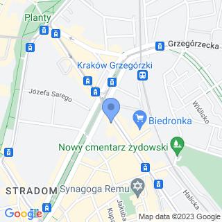 art-bike na mapie