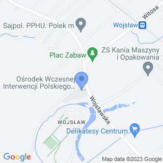 Polskie Stowarzyszenie na Rzecz Osób z Niepełnosprawnością Intelektualną - Koło w Mielcu na mapie