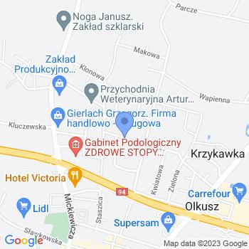 Przedszkole nr 4 im. Marii Kownackiej w Olkuszu map.on
