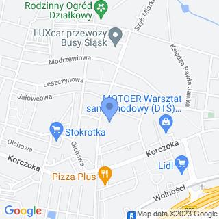 Przedszkole nr 47 im. Janusza Korczaka w Zabrzu na mapie