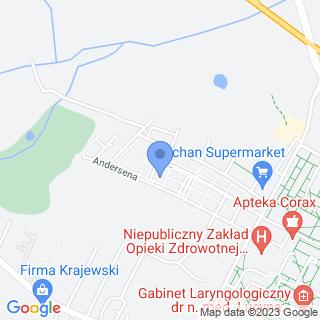 Gawroszka na mapie