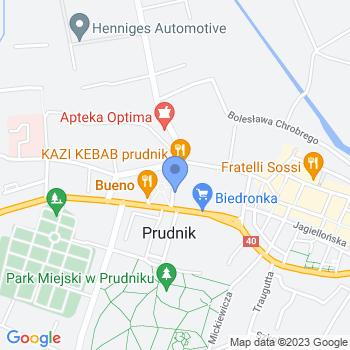 Gminne Przedszkole Publiczne w Lubrzy map.on