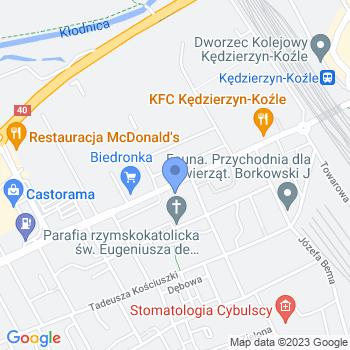 """Katolickie Przedszkole Niepubliczne """"Ochronka"""" im. Bł. E. Bojanowskiego map.on"""