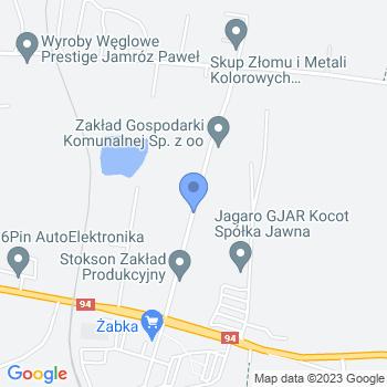 Miejskie Przedszkole nr 13 w Piekarach Śląskich map.on