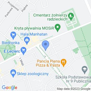 Apteka pod Lwem na mapie