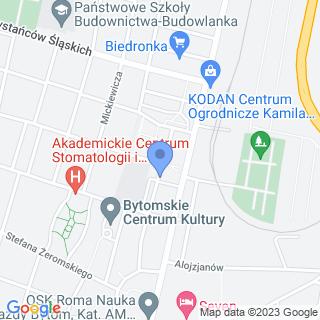 """Kompleksowa Obsługa Nieruchomości """"Anser"""" na mapie"""