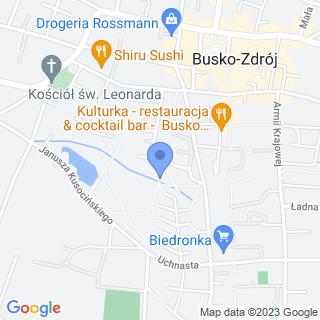 Przedszkole Specjalne w Busku - Zdroju na mapie