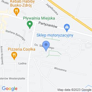 """Buski Ośrodek Trzeźwości """"Zdrój"""" na mapie"""