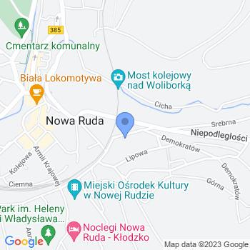"""""""Akademia Młodego Artysty"""" Niepubliczny Punkt Przedszkolny map.on"""
