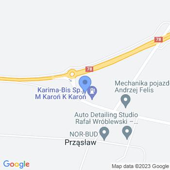 """Łuczniczy Ludowy Klub Sportowy """"Karima"""" map.on"""