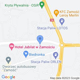 Przedszkole Językowe For Kids na mapie