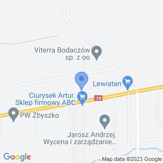 Usługowy Zakład Betoniarski na mapie
