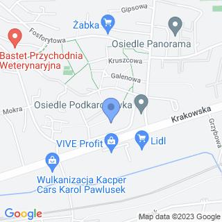 """Sklep Wielobranżowy """"Kora"""" na mapie"""