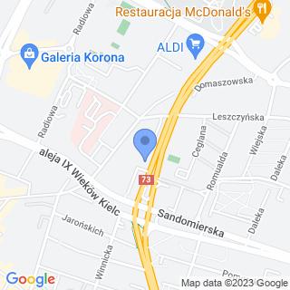Przedszkole Niepubliczne ?aqq? w Kielcach na mapie