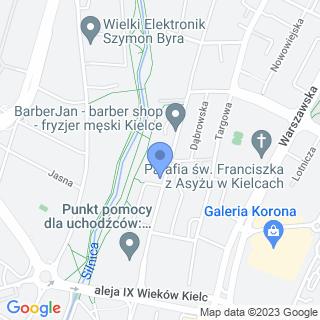 Usługi Krawieckie na mapie