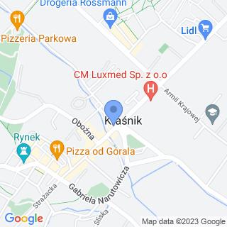 """Fundacja Andrzej Marzec """"Monte Cassino"""" na mapie"""