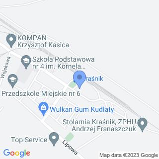"""Stowarszyszenie """"Opoka"""" na mapie"""