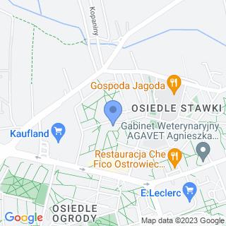 """Jacht Klub """"Ostrowiec"""" na mapie"""