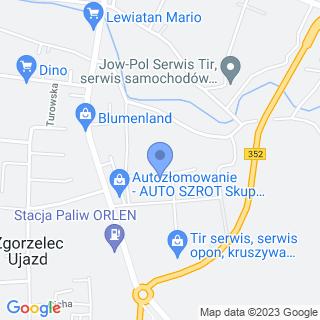 Raf-Trans na mapie