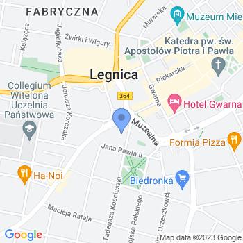 Przedszkole Miejskie w Łęknicy map.on