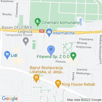 Miejskie Przedszkole nr 12 w Legnicy map.on