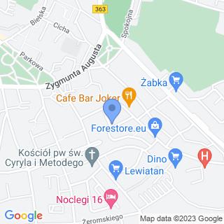 NZOZ Praktyka Lekarza Rodzinnego na mapie