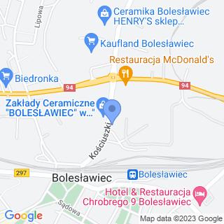 Automyjnia Samochodowa na mapie
