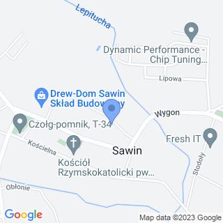 Usługi Ciesielsko-Dekarskie na mapie