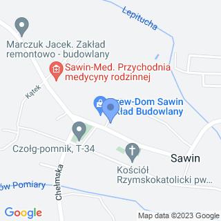 Przedsiębiorstwo Handlowo-Usługowe Eko-Dom na mapie
