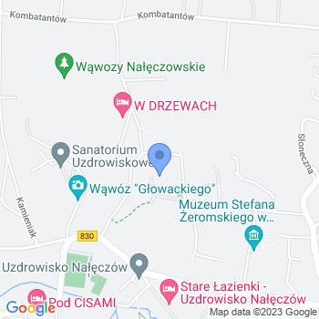 Nałęczowskie Stowarzyszenie Charytatywne map.on