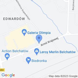 Przedszkole Niepubliczne Klub Malucha Baby Town na mapie