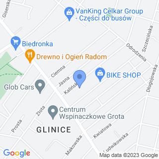 Radius na mapie