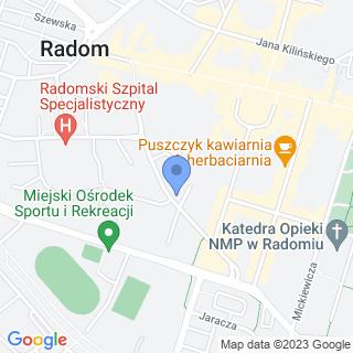 Huragan na mapie