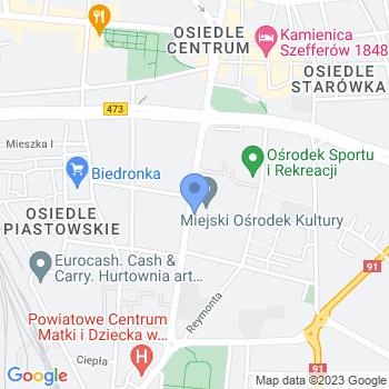 Galenica Apteka Samoobsługowa map.on