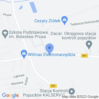 Widok na mapie
