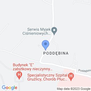 Centrum Rehabilitacyjno-Opiekuńcze Poddębina na mapie