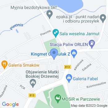 Przedszkole Niepubliczne Zajączek map.on