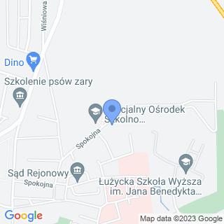 """Stowarzyszenie """"Serce Za Serce"""" na Rzecz Uczniów Zespołu Szkół im. M. Grzegorzewskiej na mapie"""