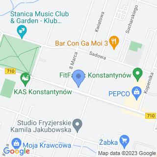 Klinika Weterynaryjna Braci Mniejszych na mapie