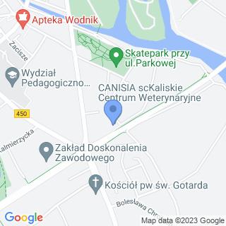 Canisia na mapie