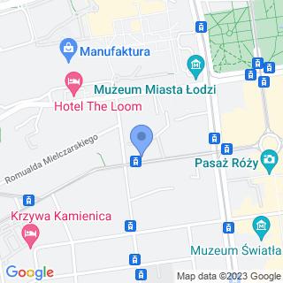 Handel Art. Przemysłowymi na mapie