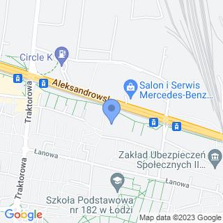 Sobczak 91-120 Łódź Aleksandrowska 20 m 18 na mapie