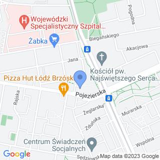 Serwis i sklep rowerowy na mapie
