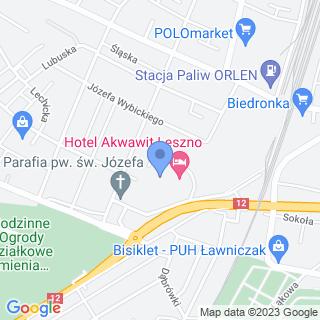 """Centrum Leczenia i Rehabilitacji """"Akwawit"""" na mapie"""