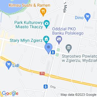 Stowarzyszenie Rodziców i Opiekunów Osób z Zespołem Downa w Łodzi na mapie